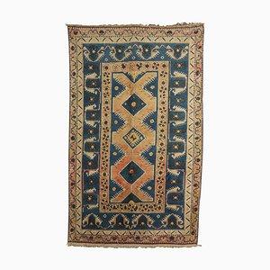 Handgeknüpfter türkischer Vintage Teppich, 1960er