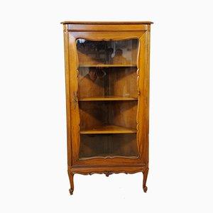 Baroque Style Corner Showcase Cabinet, 1950s