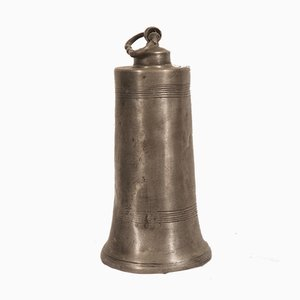 Antique Late 18th Century German Tin Water Bottle