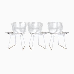 Vintage Wire Chairs by Harry Bertoia for Knoll Inc., 1960s, Set of 3