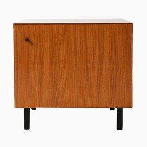 Mueble de chapa de nogal, años 60