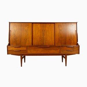 Vintage Danish Rosewood Sideboard, 1960s
