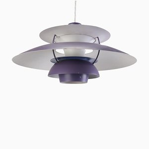 Danish PH5 Pendant by Poul Henningsen for Louis Poulsen, 1950s