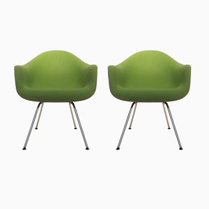 Fiberglass Side Chairs by Charles & Ray Eames for Herman Miller, 1970s, Set of 2