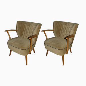 Lounge Chairs, 1950s, Set of 2