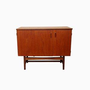Mueble o aparador convertible de teca, años 70