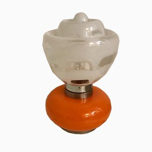 Lámpara de mesa Mid-Century grande de Mazzega, años 70