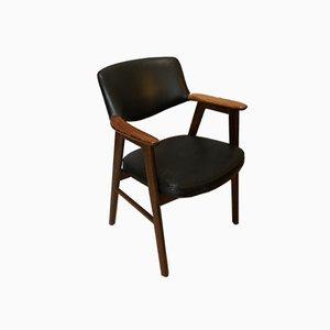Armlehnstuhl aus Palisander von Erik Kirkegaard für Høng Stolefabrik, 1950er