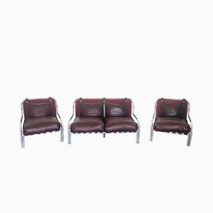 Sofa & Sessel von Gae Aulenti für Poltronova, 1960er, 3er Set