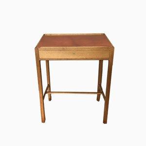 Danish Oak Standing Writing Desk from Morten Olsen, 1960s