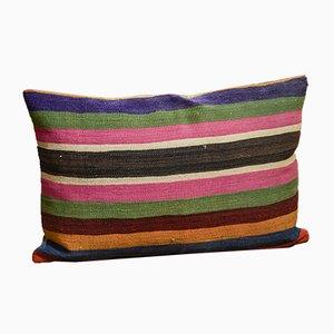 Funda de cojín de kilim de colores de Zencef