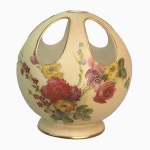 Antike Porzellanvase von Royal Worcester
