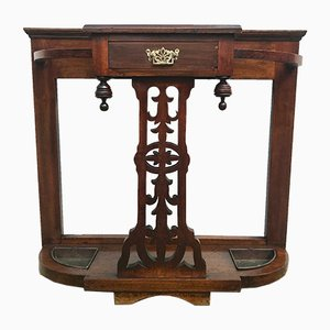 Antique Edwardian Mahogany Umbrella Stand