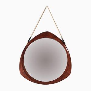 Spiegel mit Rahmen aus Teak von Campo e Graffi, 1960er
