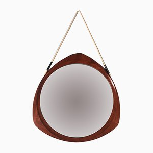 Teak Mirror by Campo e Graffi, 1960s