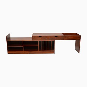 Swedish Rosewood Extendable Sideboard, 1960s