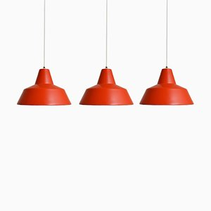 Werkstattlampen von Louis Poulsen, 1960er, 3er Set