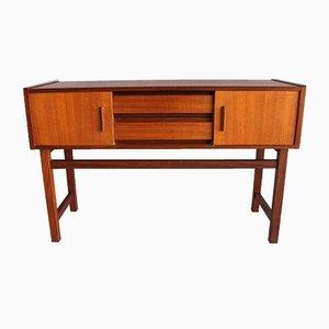 Kleines dänisches Sideboard aus Teak, 1960er