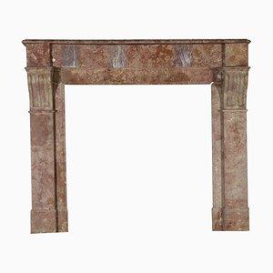 Antiker Kaminsims aus Marmor
