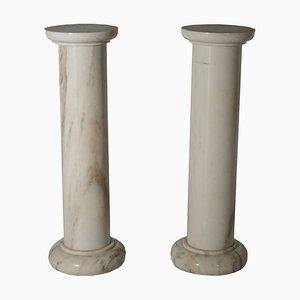 Columnas de mármol. Juego de 2