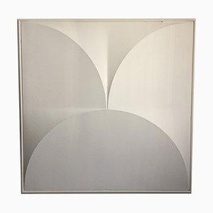 Paneles vintage de fibra de André Remondet, años 70. Juego de 2