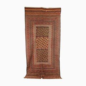 Alfombra de Oriente Medio antigua hecha a mano, años 40