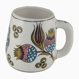 Vintage Hand Painted Coffee Mug, 1970s