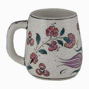 Türkische Vintage Keramiktasse, 1970er