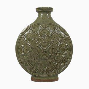 Jarrón de cerámica de Lily ter Kuile-Nypels, años 70