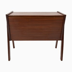 Teak Sewing Box from SimplaLux, 1960s