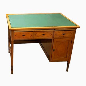 Antique Biedermeier Cherry Desk