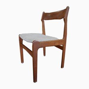 Esszimmerstühle aus Teak von Erik Buch, 1960er, 4er Set