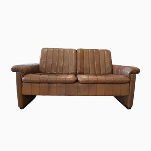 Brown Love Seat from de Sede, 1970s