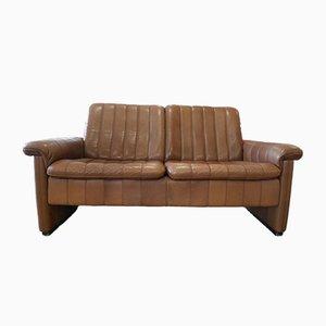 Sofá de dos plazas marrón de de Sede, años 70