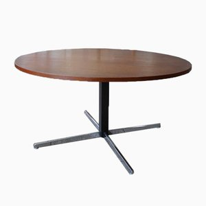 Table Basse à Hauteur Ajustable en Teck par Wilhelm Renz, 1960s