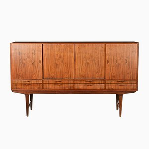 Mid-Century Rosewood Highboard by L. Christian Larsen, 1960s