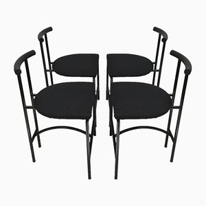 Tokyo Dining Chairs by Rodney Kinsman for Bieffeplast, 1980s, Set of 4