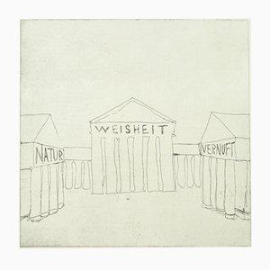 Danish Nature, Wisdom, Common Sense Lithograph by Jacob Nørregaard, 2006