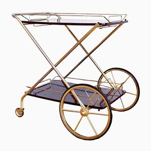 Folding Trolley with Removable Tray, 1960s