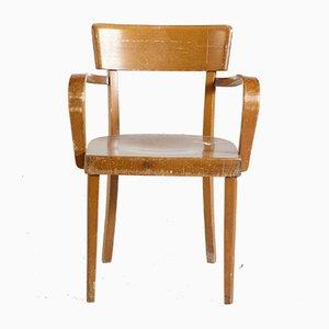 Vintage Armlehnstuhl aus Buche, 1970er