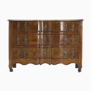 18th-Century French Cherry Commode