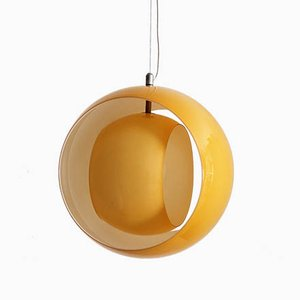 Italian Eclisse Ceiling Lamp by Carlo Nason for Mazzega, 1970s