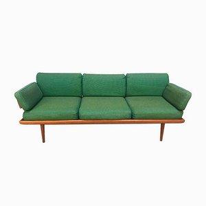Dänisches Minerva 3-Sitzer Sofa mit Gestell aus Teak von Peter Hvidt & Orla Mølgaard-Nielsen für France & Son, 1960er