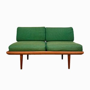 Danish Minerva 2-Seater Teak Sofa by Peter Hvidt & Orla Mølgaard-Nielsen for France & Son, 1960s