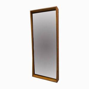 Mid-Century Scandinavian Modern Wooden Wall Mirror, 1960s