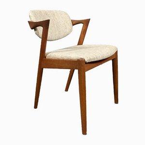 Mid-Century Z-Chair aus Teak von Kai Kristiansen für Skovmand & Andersen, 1950er