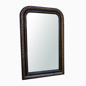 Small Antique French Louis Philippe Mirror, 1880s