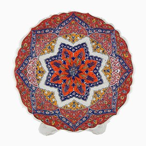 Turkish Handcrafted Wall Plate, 1970s