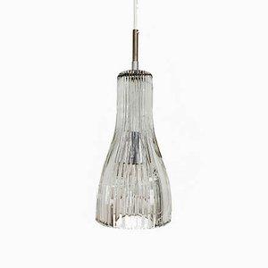 Mid-Century Crystal Pendant Lamp, 1960s