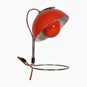 Lámpara de mesa danesa vintage de Verner Panton para Louis Poulsen, años 60
